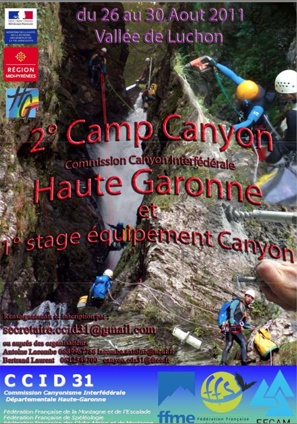 camp canyon haute garonne 2011