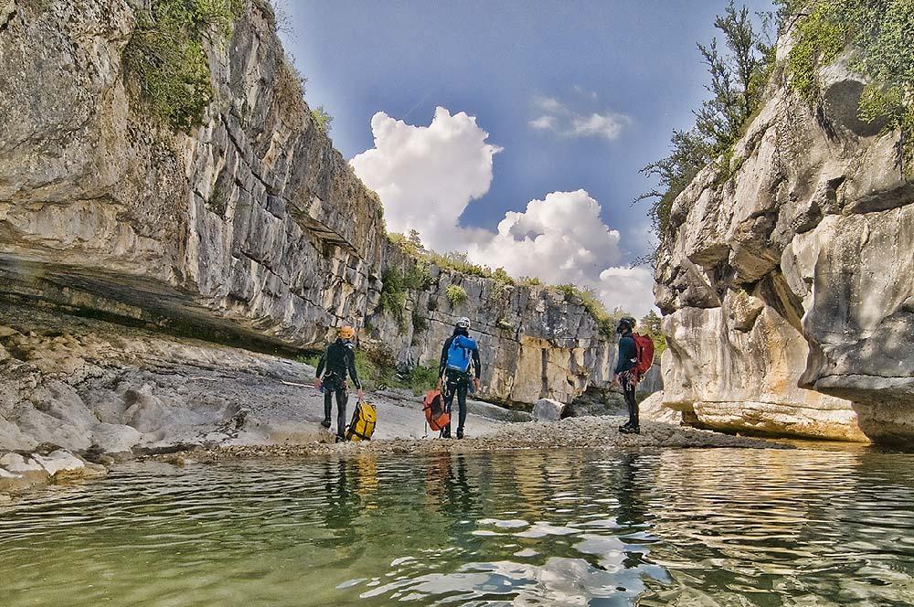 canyon du jabron inférieur