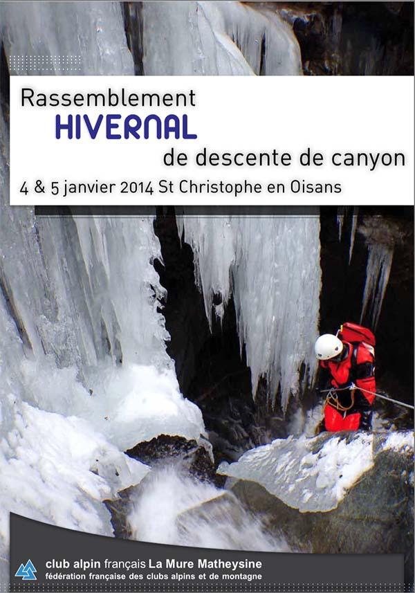 rassemblement canyon hivernal 2014