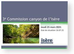 CR réunion commission canyon Isère 16/07/2021