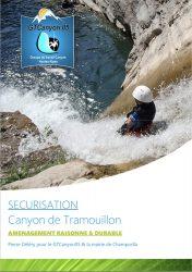 Aménagement du canyon de tramouillon